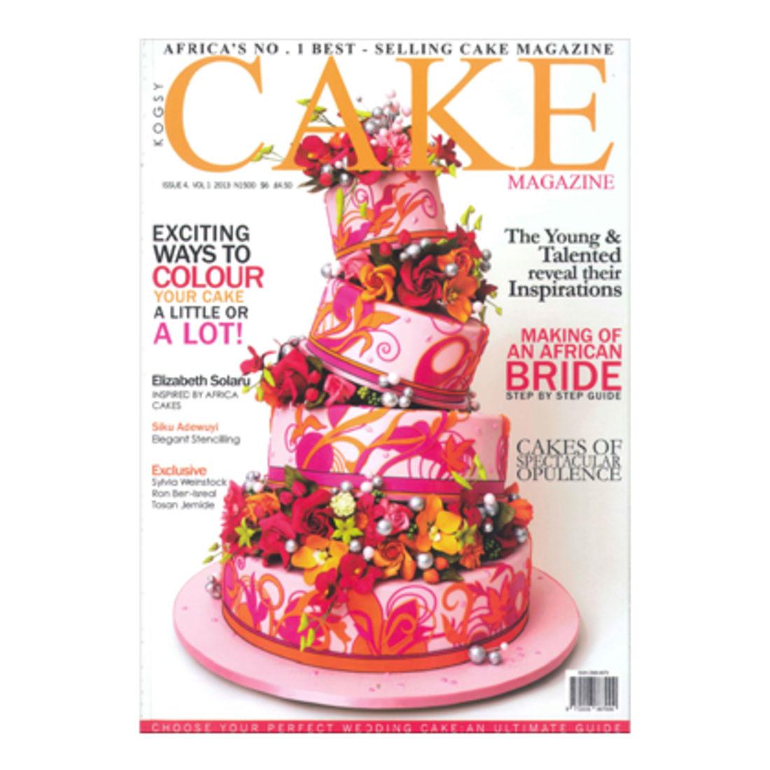 Kogsy Cake Magazine Squires Kitchen Shop Cake