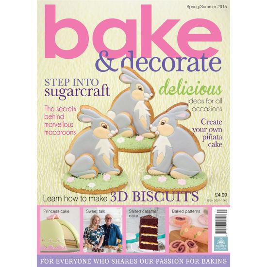 Bake & Decorate Magazine Spring/Summer 2015 Squires ...