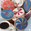 SK Art-Ice Stencil Round Celebration Pinwheel