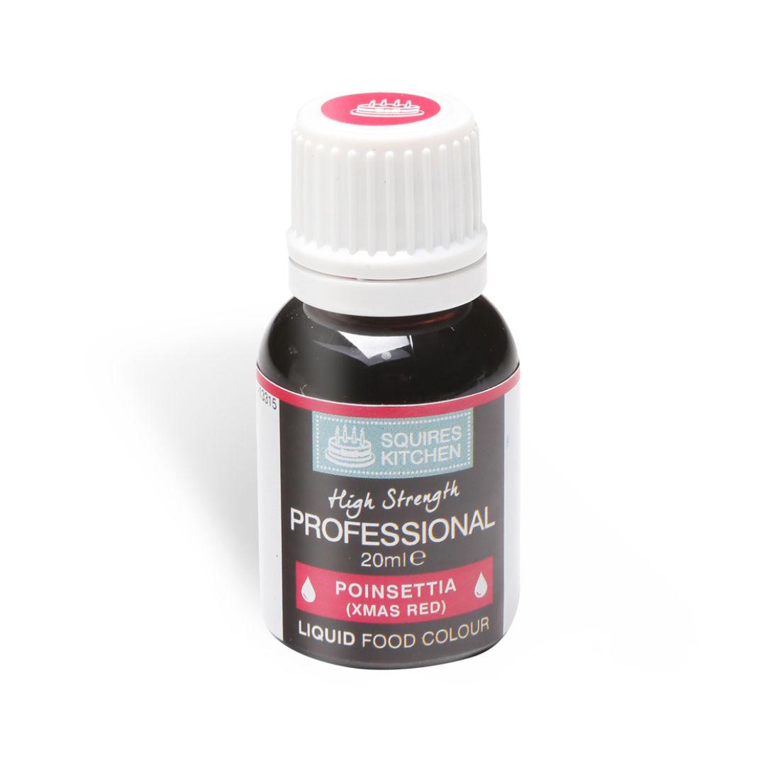 SK Professional Food Colour Liquid Poinsettia (Xmas Red) | Squires ...