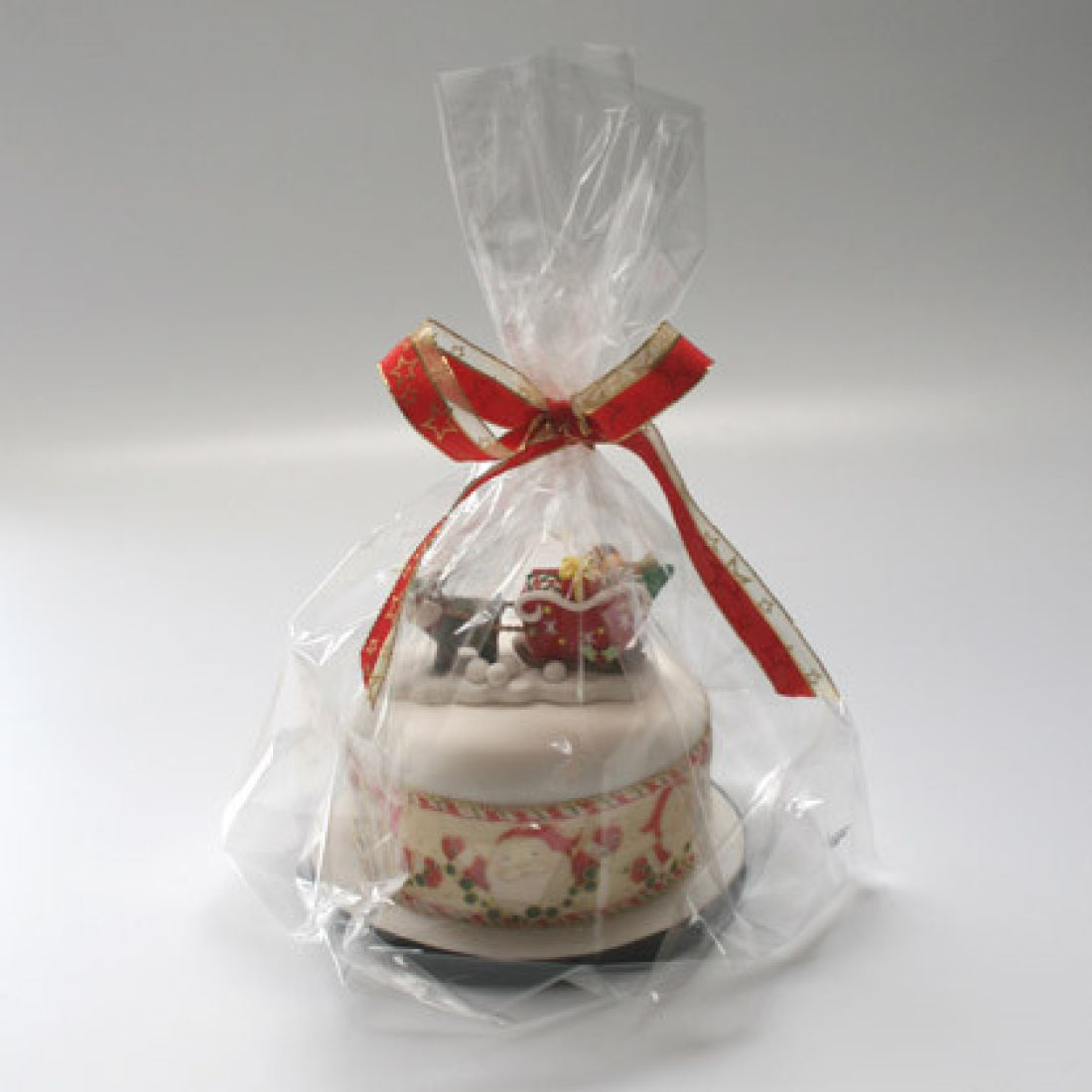 Clear Cellophane Cake Bags Pack Of 6