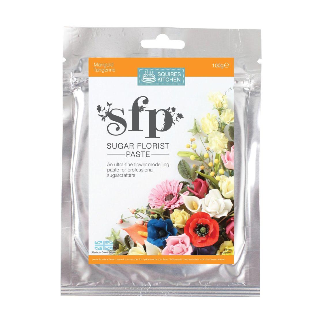 SK SFP Sugar Florist Paste Marigold (Tangerine) 100g | Squires ...