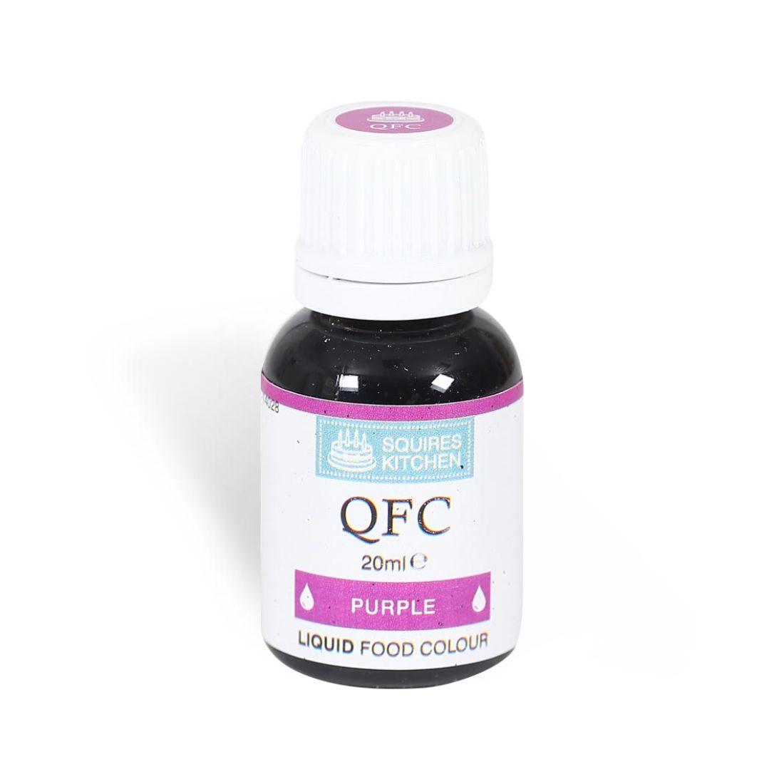 SK QFC Quality Food Colour Liquid Purple | Squires Kitchen Shop