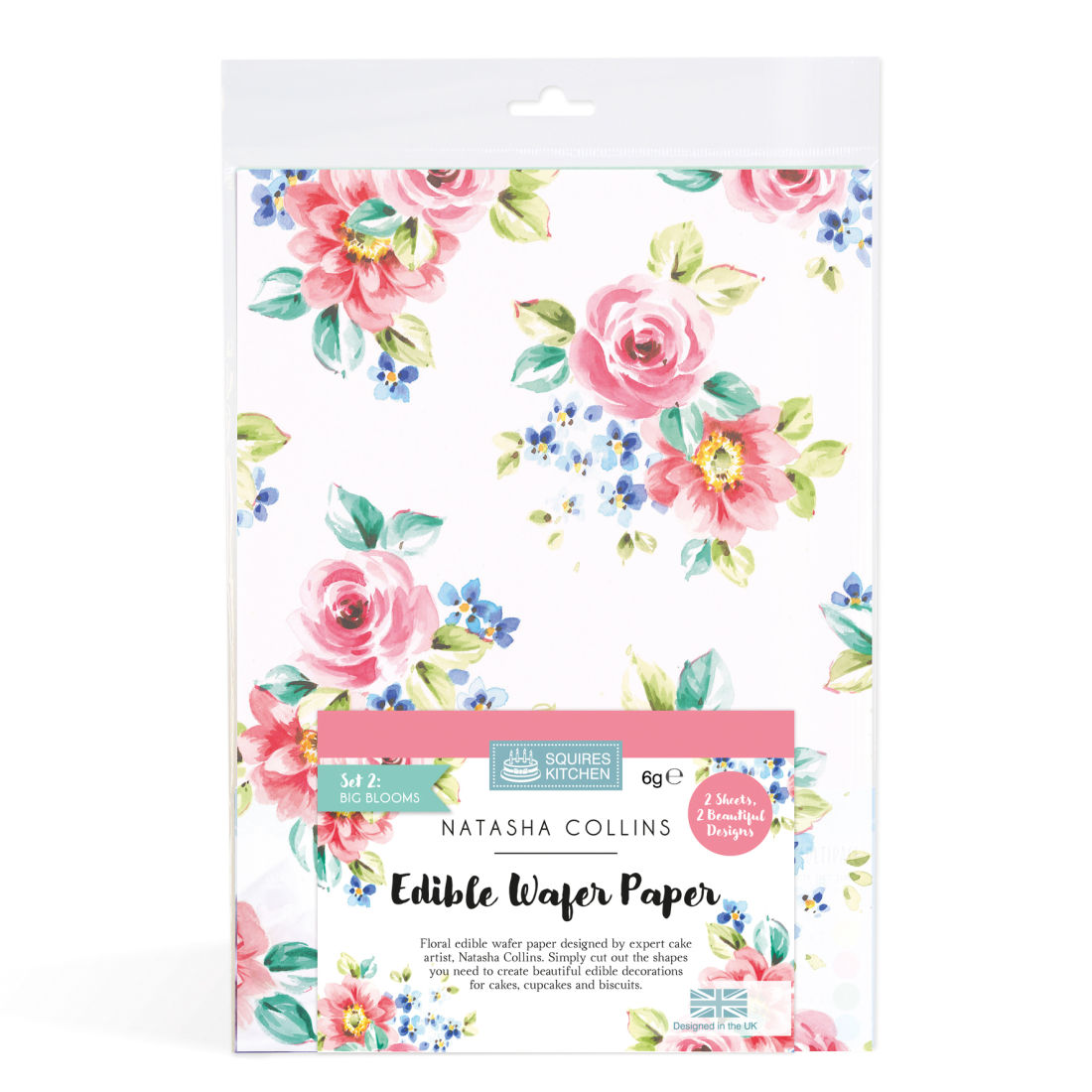 Sk Edible Wafer Paper By Natasha Collins Big Blooms Squires
