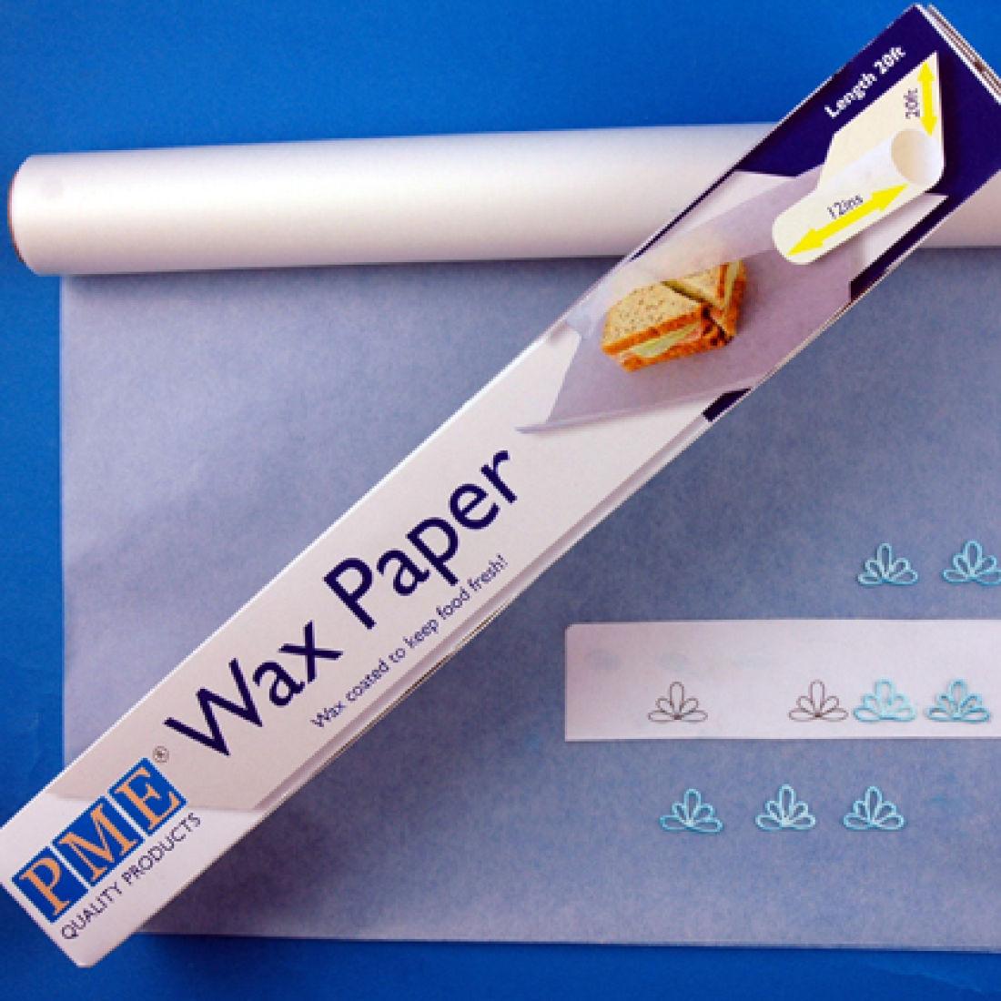 Attrayant PME Wax Paper Roll 6m