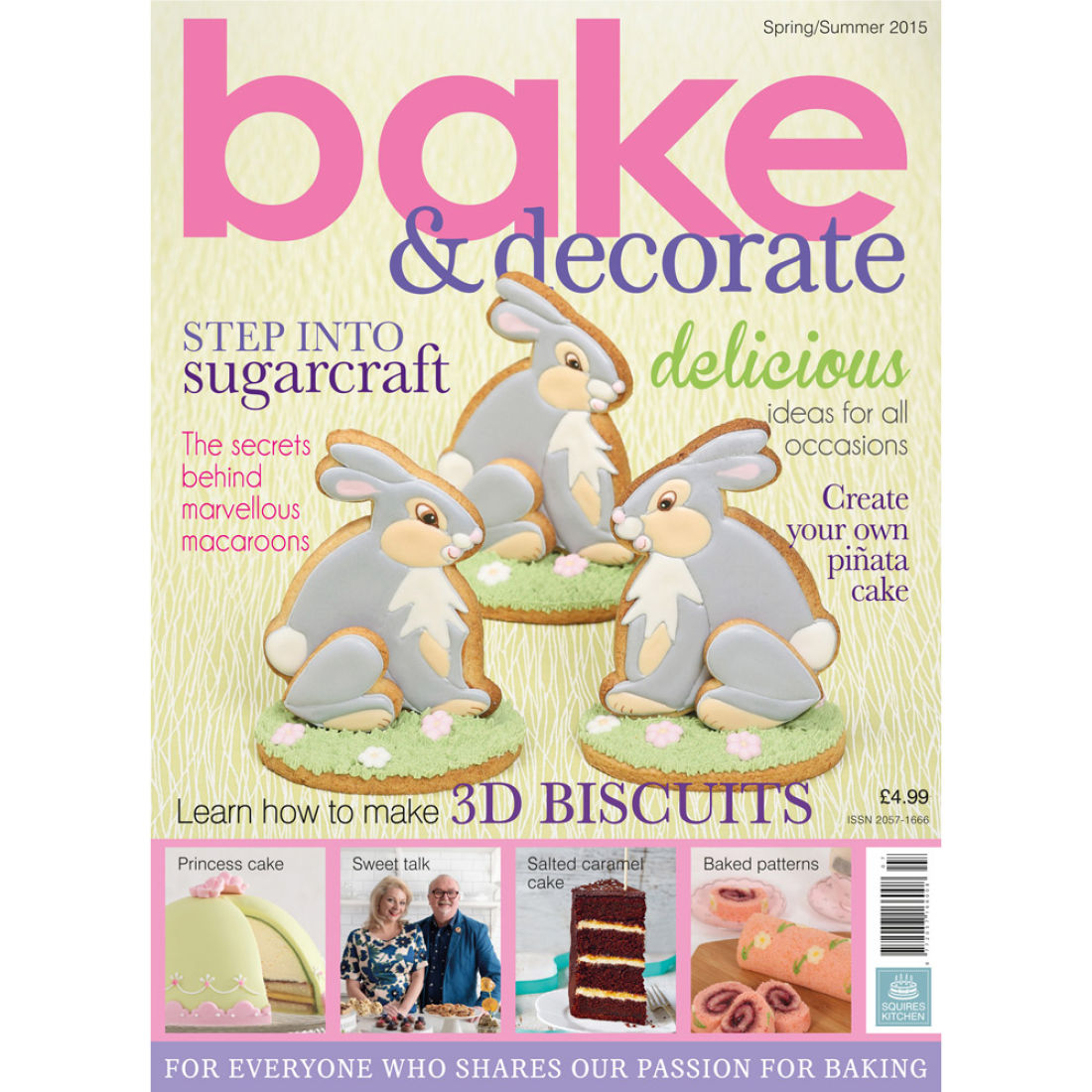 Bake Magazine Spring/Summer 2015 | Squires Kitchen Shop