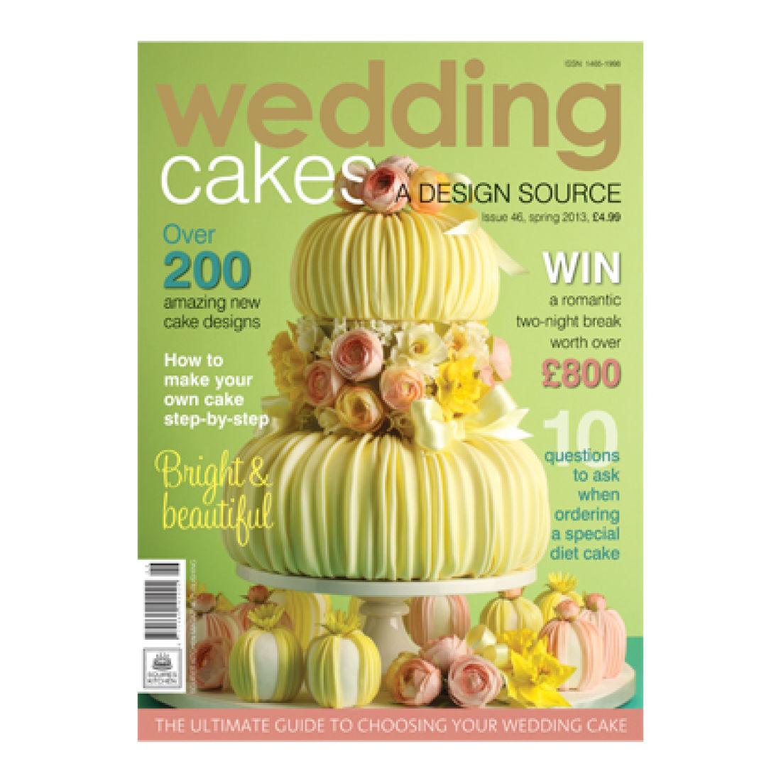 Wedding Cakes Magazine Spring 2013   Squires Kitchen Shop