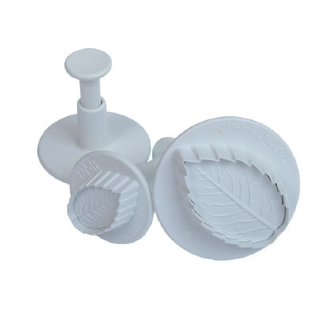 PME Veined Rose Leaf Plunger Cutter