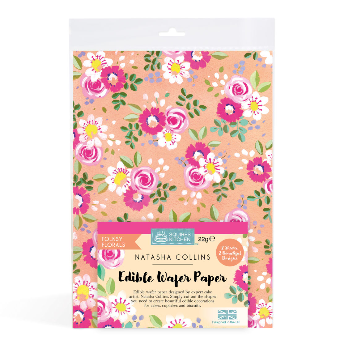Sk Edible Wafer Paper By Natasha Collins Folksy Florals Squires