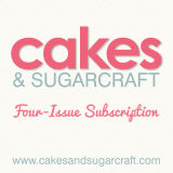 Cakes & Sugarcraft Magazine Subscription 6 Issues Starting with Next Issue (June/July 2016)