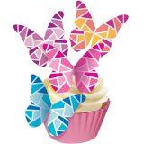 SK Designer Butterflies - Geometric Shards