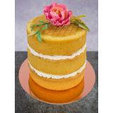 PME Gold Mirror Cake Card Round 6 Inch