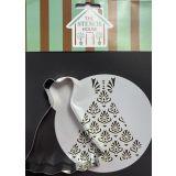 Stencil House Cookie Cutter & Stencil Set