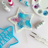 Sweet Stamp Blank Canvas Star Blank Topper