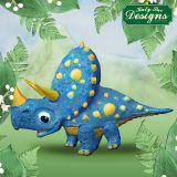 Katy Sue Designs Triceratops Mould