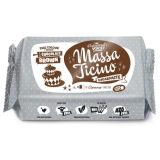 Massa Ticino Sugarpaste Chocolate Brown 250g