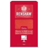 Renshaw Extra Ready to Roll Icing Red 1kg