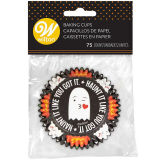 Wilton Cupcake Cases Ghost & Pumpkin (pack of 75)
