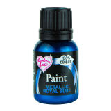 Rainbow Dust Metallic Food Paint - Royal Blue 25ml