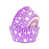 SK Cupcake Cases Star Amethyst Pack of 36
