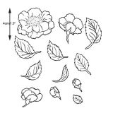 Patchwork Cutter & Embosser Wild Rose