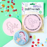 Sweet Stamp OUTboss Paint Your Own Sea Horse