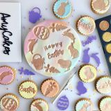 Sweet Stamp Hoppy Bunny Embossing Elements