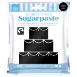 SK Fairtrade Sugarpaste Tuxedo Black 250g