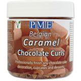 PME Chocolate Curls - Caramel (85g / 3oz)