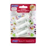 PME Mini Butterfly Plunger Cutters Set of 3