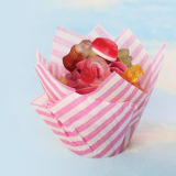 SK Muffin Wraps, Candy Stripe