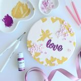 Sweet Stamp Love Embossing Elements