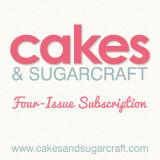 Cakes & Sugarcraft Magazine Subscription 4 Issues