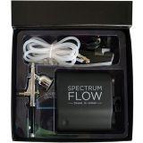 Spectrum Flow Airbrush & Compressor Kit - Black