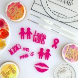 Sweet Stamp Pride Embossing Elements