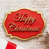 Katy Sue Happy Christmas Plaque