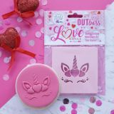 Sweet Stamp OUTboss Love Expressions Heart Unicorn