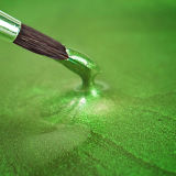 Rainbow Dust Metallic Food Paint - Pearlescent Spring Green 25ml