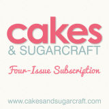 Cakes & Sugarcraft Magazine Subscription 4 Issues Starting with Current Issue (Autumn 2015)