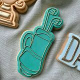 LissieLou Golf Bag Cutter & Stamp