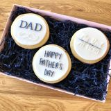 LissieLou Father's Day Set of 3 Cookie Embossers