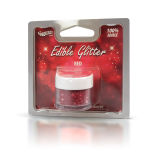 Rainbow Dust Edible Glitter 5g - Red