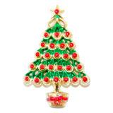 Plastic Christmas Tree Cake Decoration