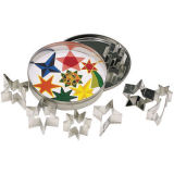 Kitchen Craft Mini Cookie Cutters Star Set of 11