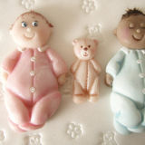 Karen Davies Baby and Teddy Mould
