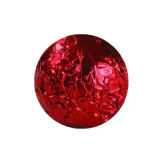 Deep Red Foil Wraps 8x8cm