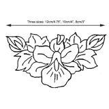 Patchwork Cutter & Embosser Orchid Garland