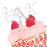 Diamante Ampersand Cake Pick - &