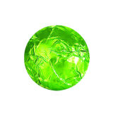 Lime Green Foil Wraps 8x8cm