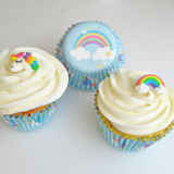 Unicorn & Rainbow Baking Cases 25 Cases